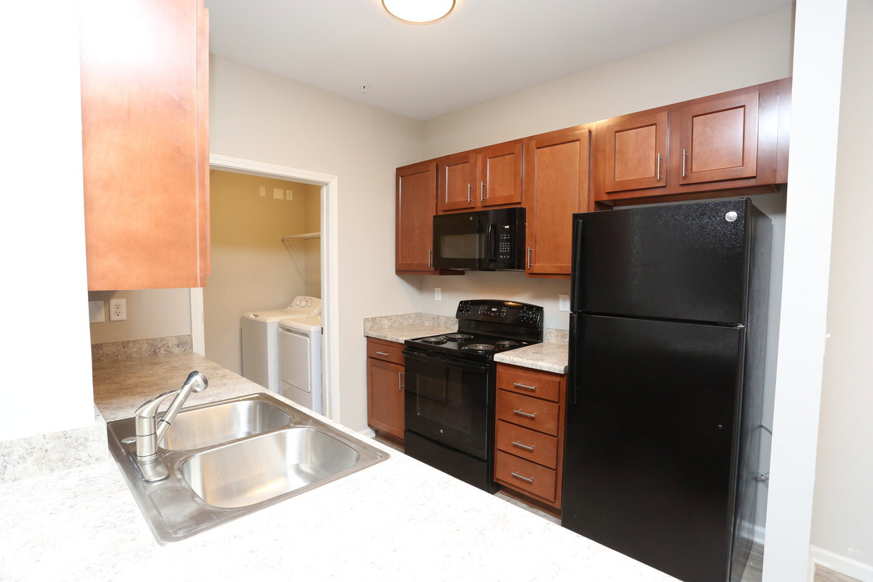 Kitchen Storage at Bristol Bluffs Apartments in Louisville, Kentucky