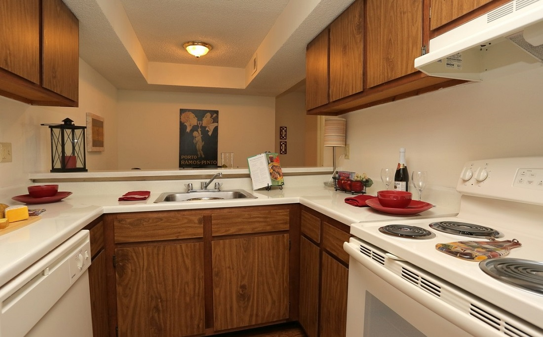 Electric Appliances at Brittany Square Apartments in Tulsa, OK