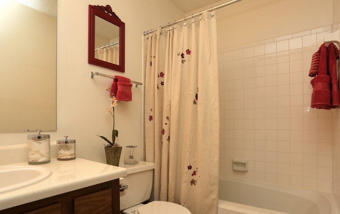 Upgraded Bathrooms at Brittany Square Apartments in Tulsa, OK