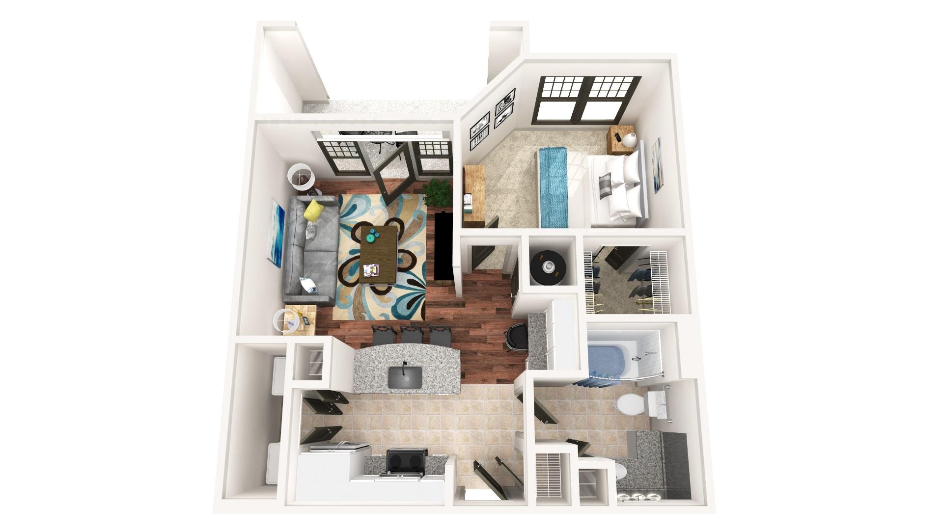 Floorplan - A-7C image