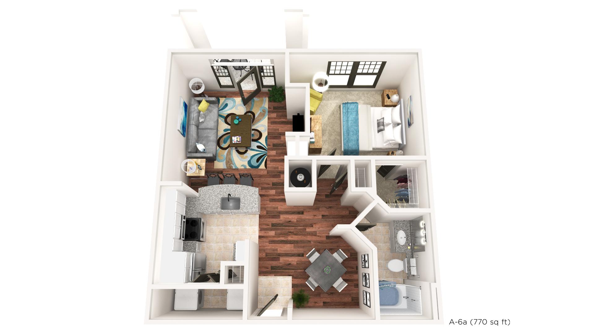 Floorplan - A-6A image