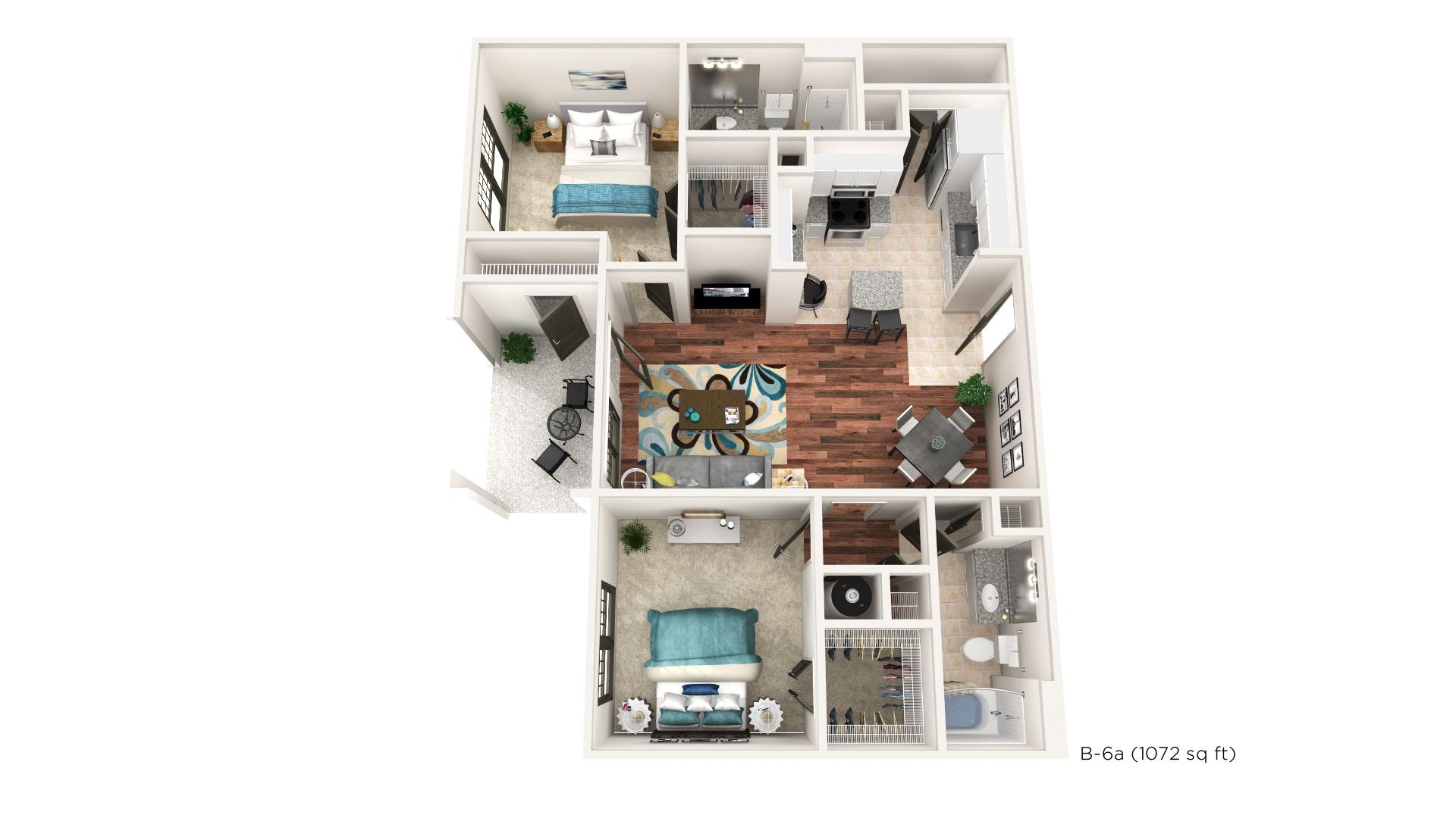 Floorplan - B-6 image
