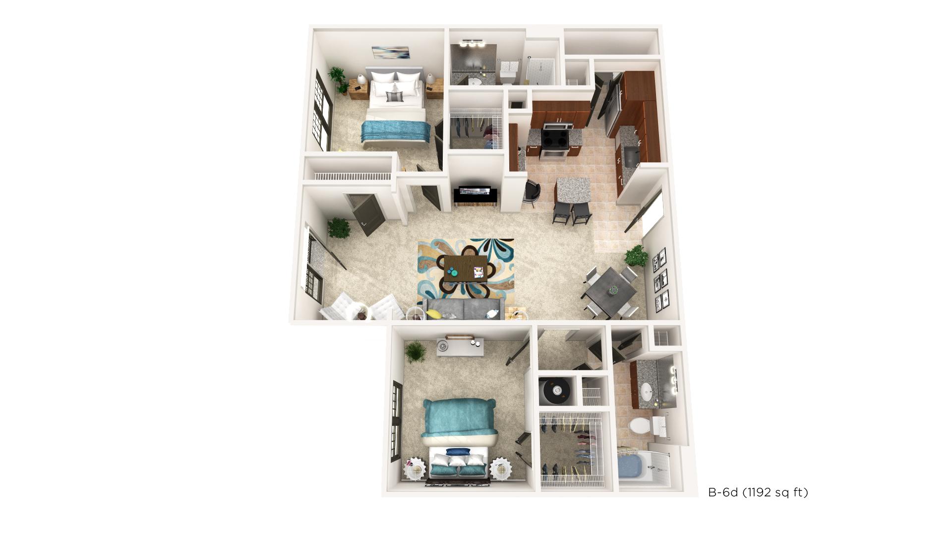 Floorplan - B-6D image