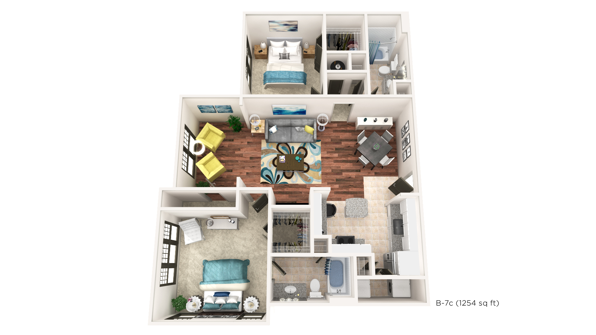 Floorplan - B-7C image