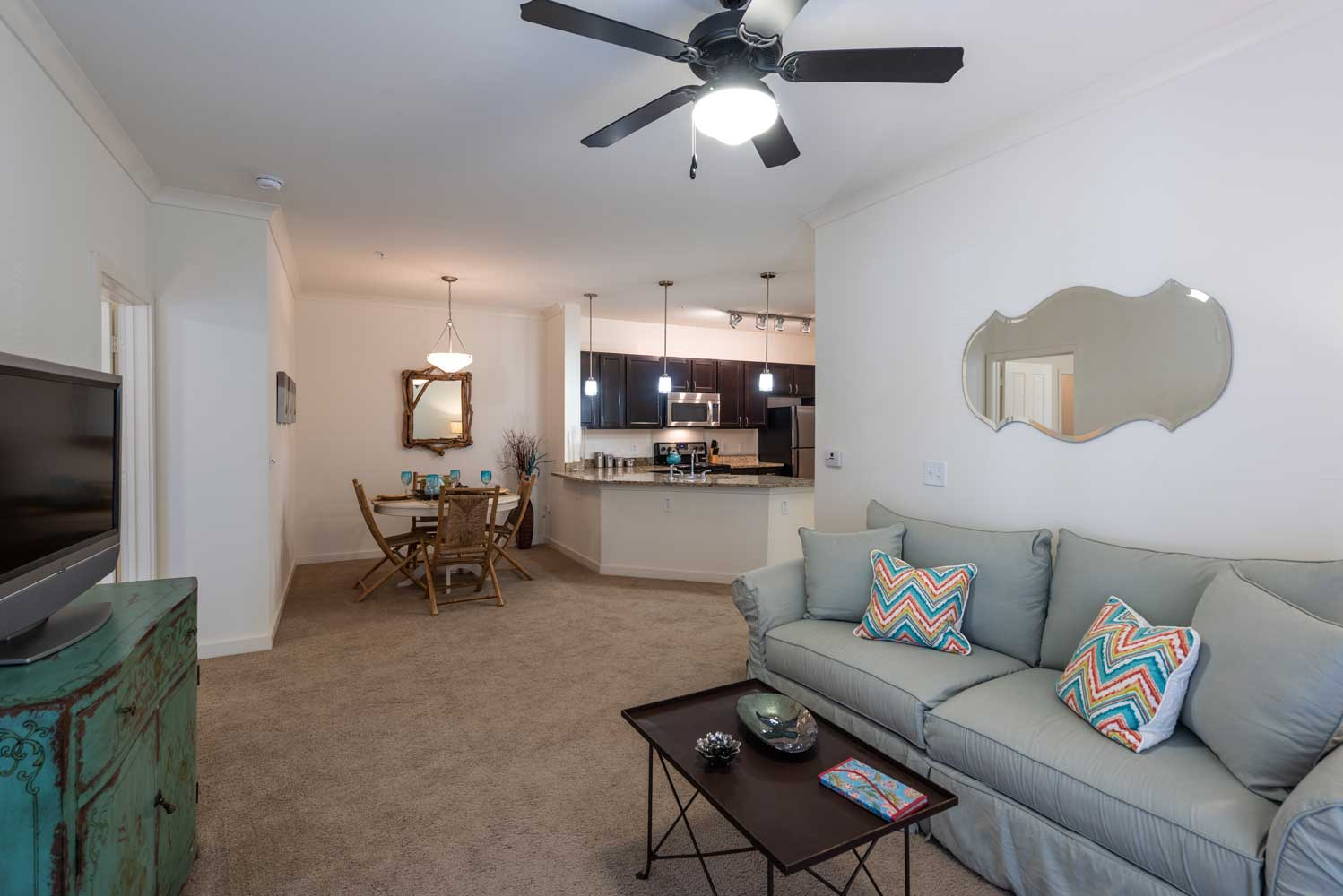 Spacious Floor Plan at Brookstone Park Apartments in Covington, LA