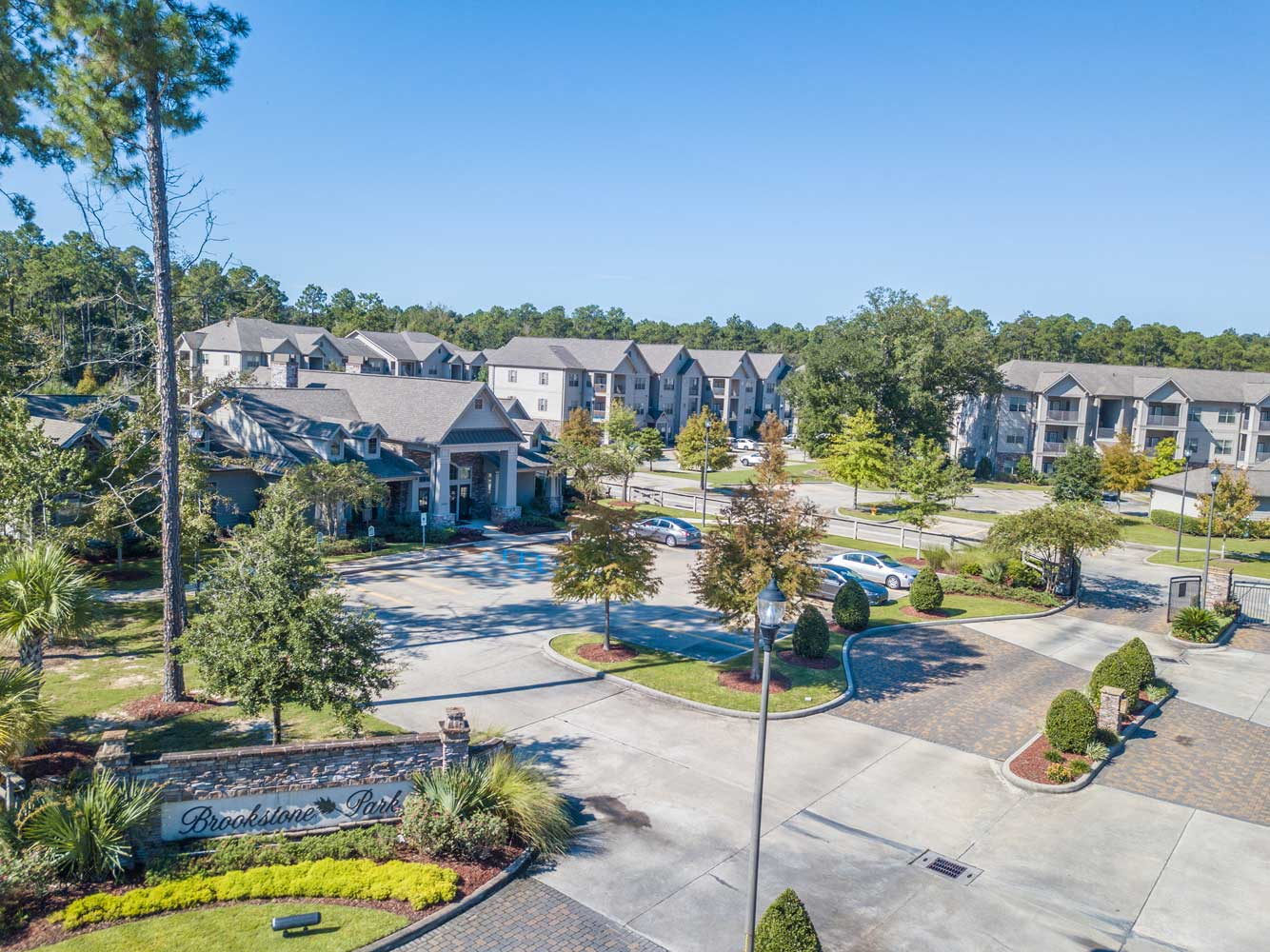 Open Lot at Brookstone Park Apartments in Covington, LA