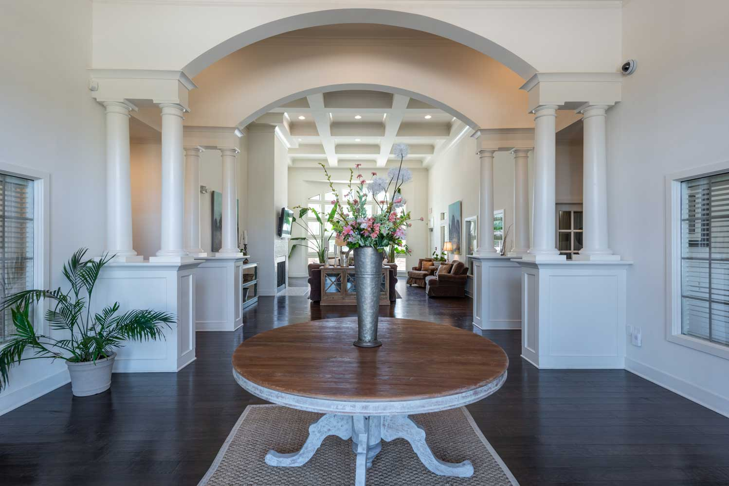 Elegant Clubhouse at Brookstone Park Apartments in Covington, LA