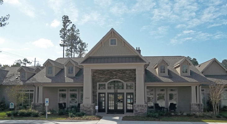 Resident Clubhouse at Brookstone Park Apartments in Covington, LA