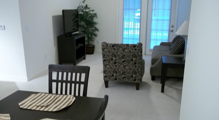 Dining Room at Brookstone Park Apartments in Covington, LA