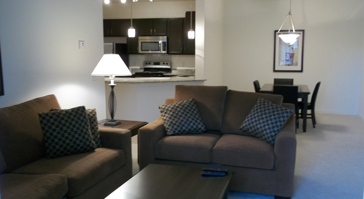 Open Floor Plans at Brookstone Park Apartments in Covington, LA