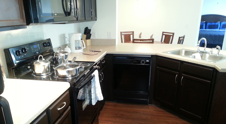 Upgraded Appliances at Brookstone Park Apartments in Covington, LA