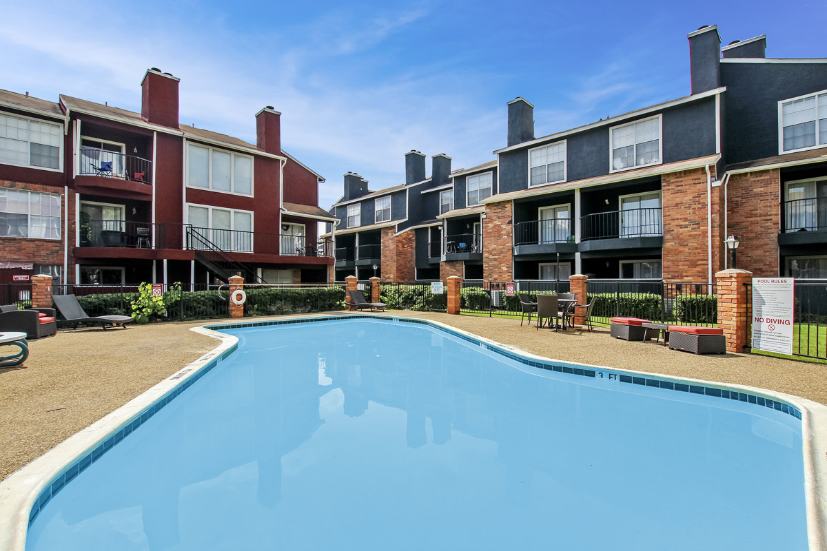Refreshing Pool at Cadence Apartments in Dallas, Texas
