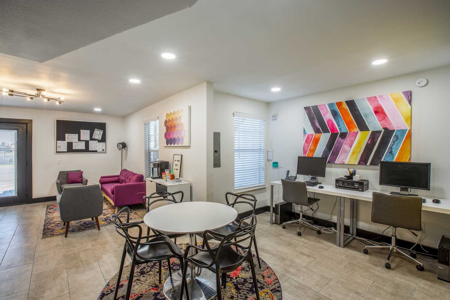 Clubhouse at Cadence Apartments in Dallas, Texas