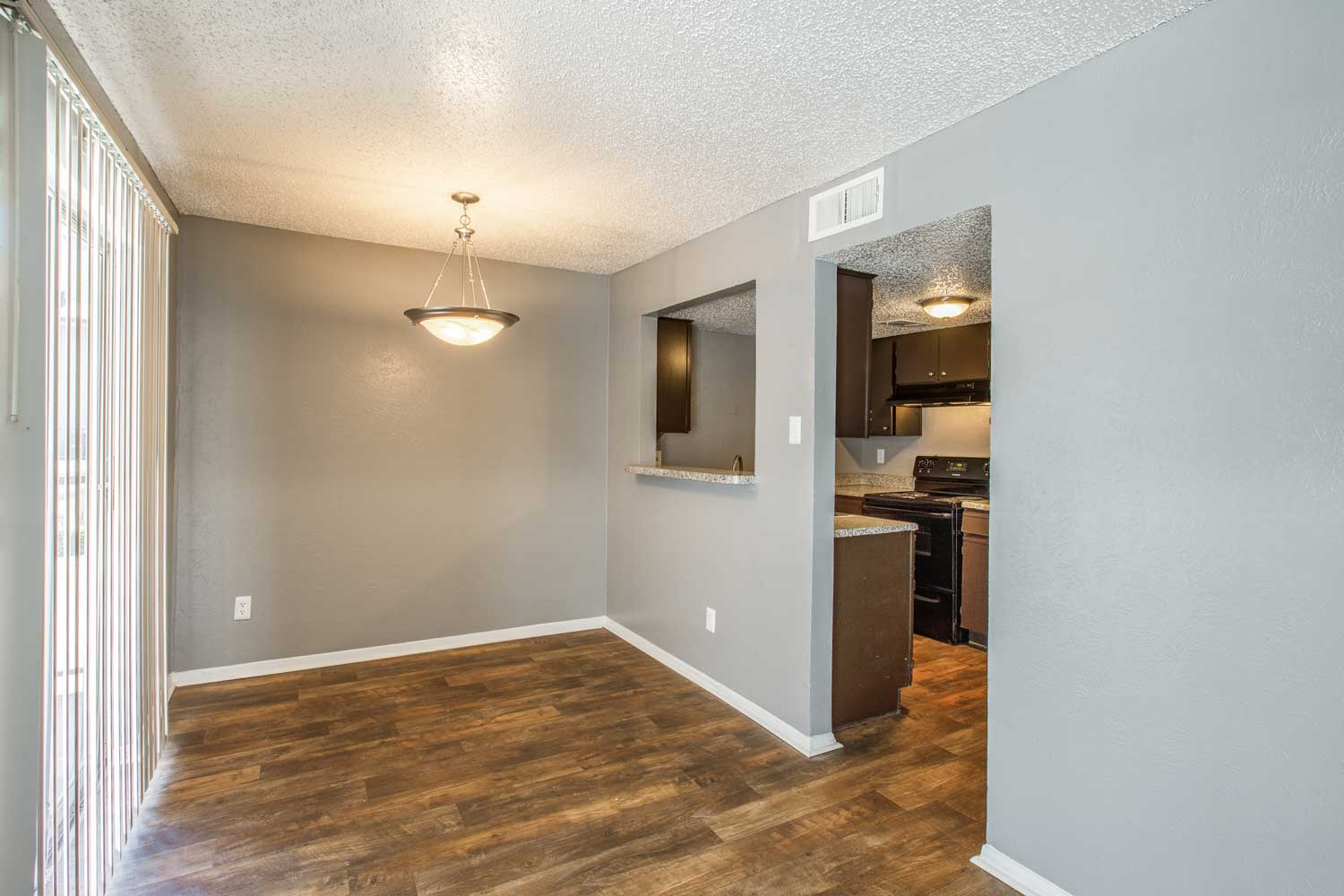 Wood Flooring at Cadence Apartments in Dallas, Texas