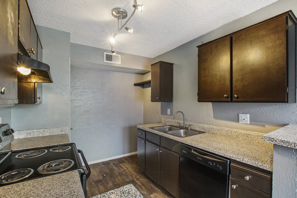 Well Equipped Kitchen at Cadence Apartments in Dallas, Texas