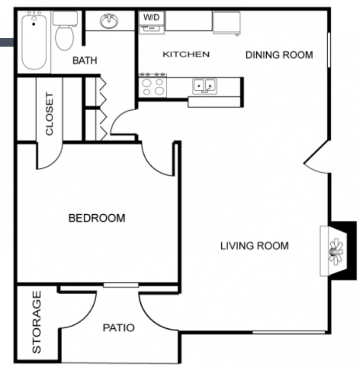 Cantebria Crossing - Floorplan - The Castile