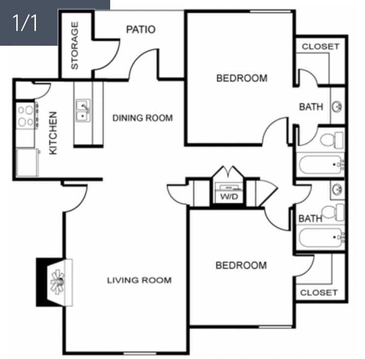 Cantebria Crossing - Floorplan - The Leon
