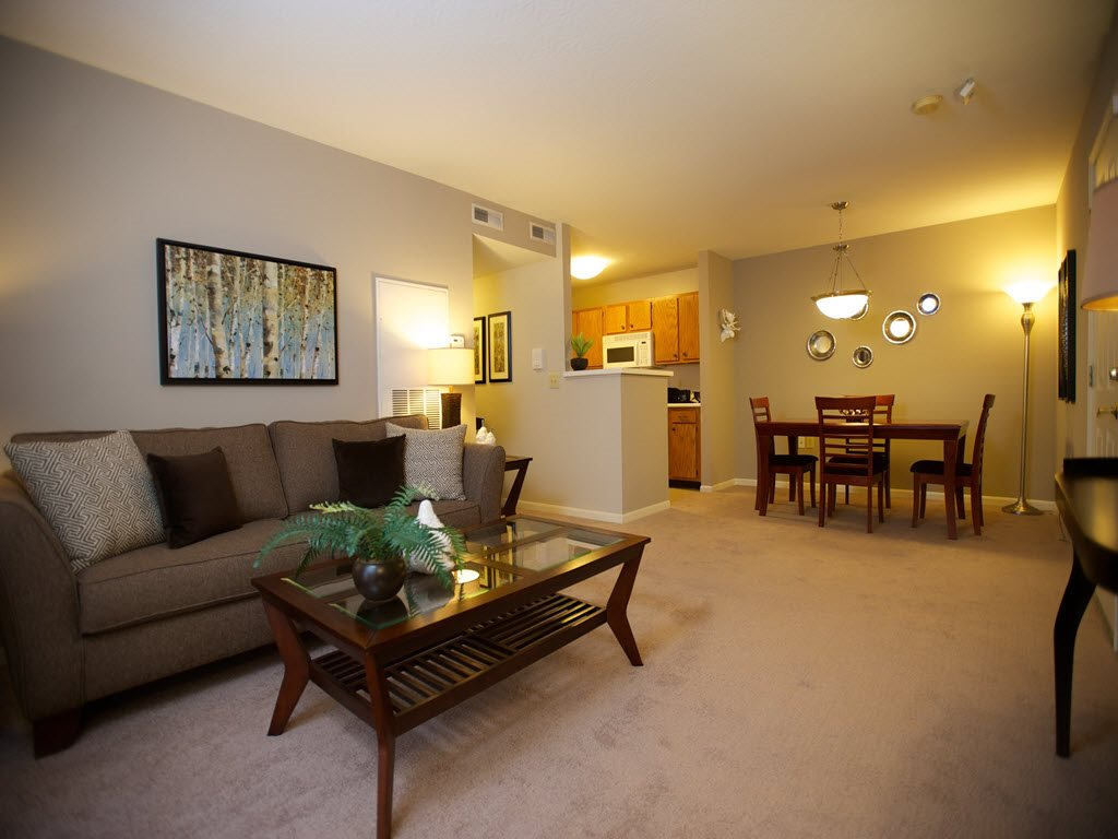 Open Floor Plans at Carriage Square Apartments in Loveland, Ohio