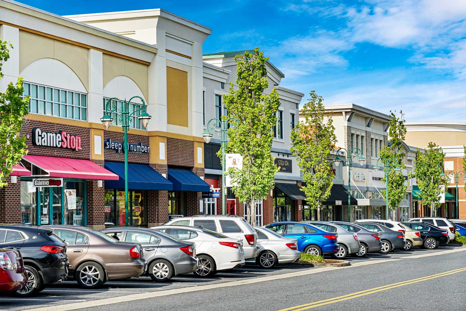 Bowie Town Center is 10 minutes from Carrollon Manor Apartments in New Carrollton, MD
