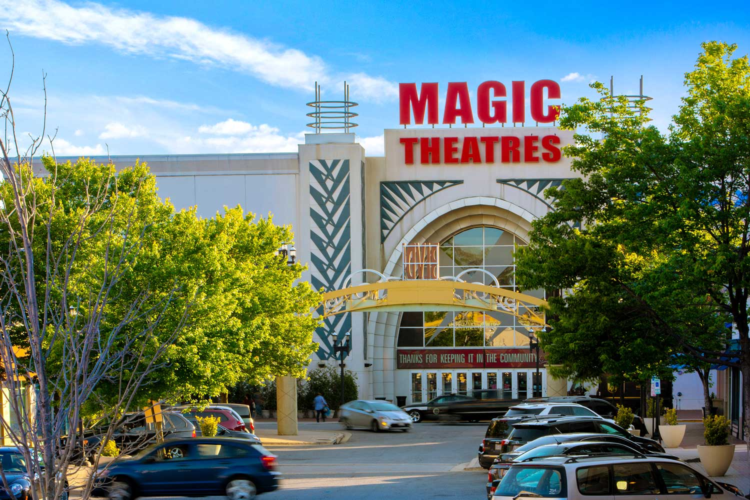 10 minutes to AMC Magic Johnson Capital Center movie theater