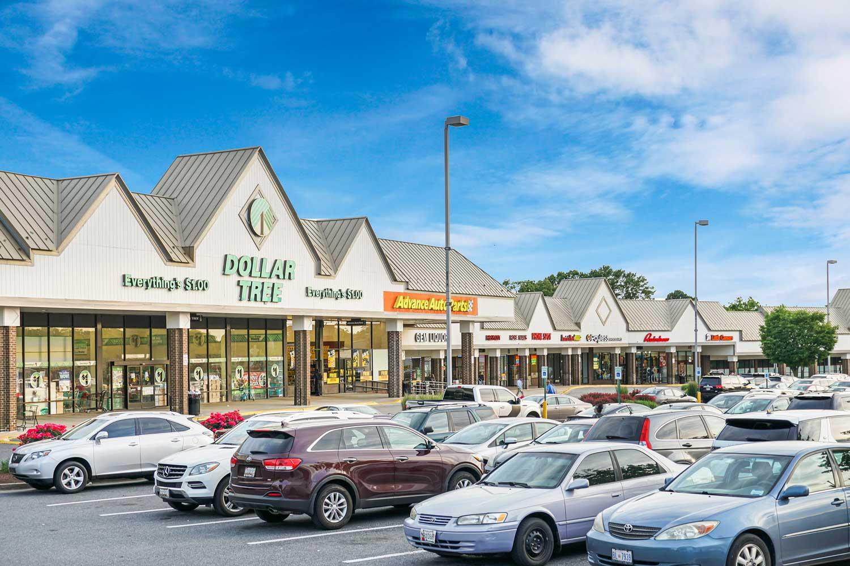 5 minutes to Enterprise Plaza shopping center near Carrollon Manor Apartments
