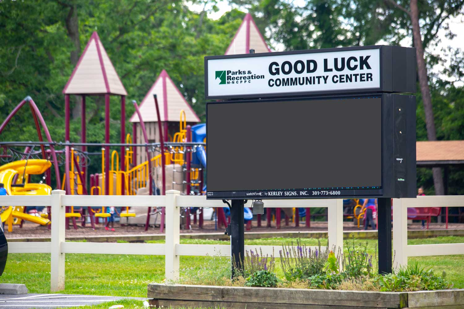 Good Luck Community Center is 5 Minutes from Carrollon Manor Apartments