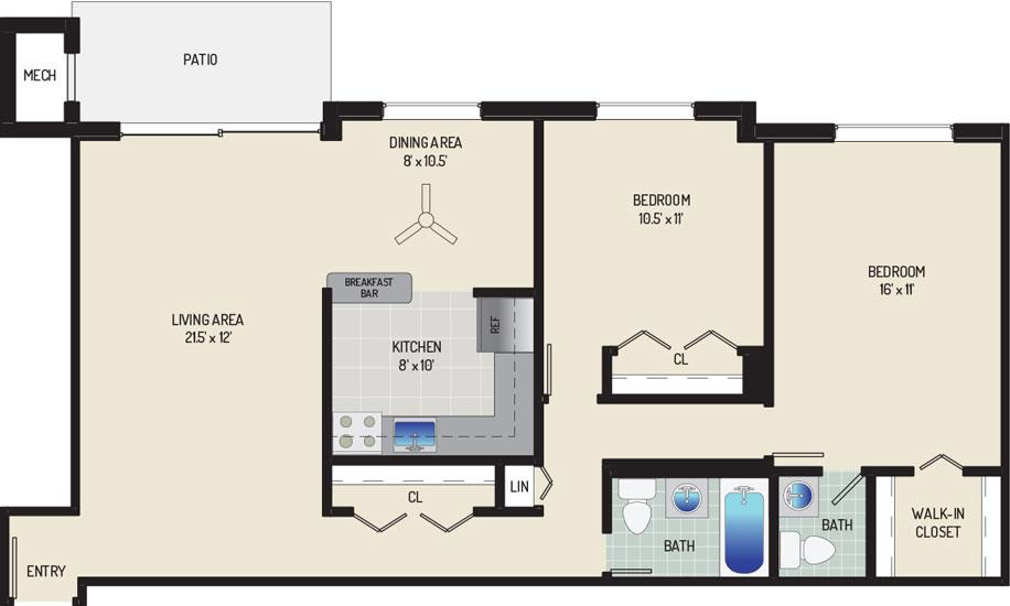 Carrollon Manor Apartments - Apartment 525409-02-I