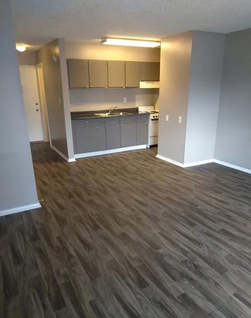 Open Kitchen at Casitas De Bella Apartments in Santa Fe, NM