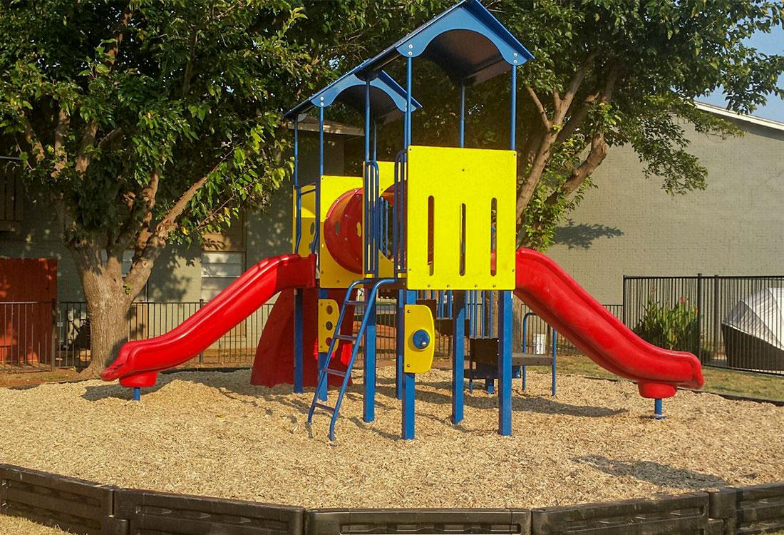 Children's Playground at Cedar Creek Apartments in Abilene, Texas