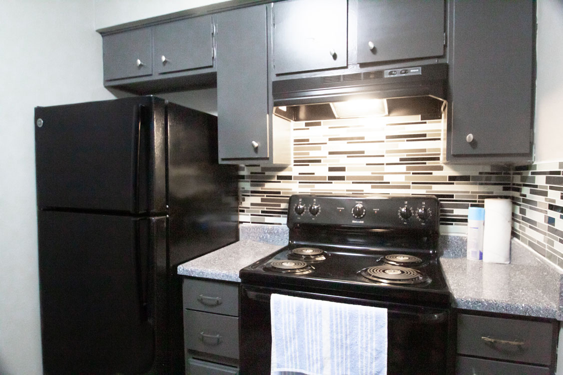Fully-Equipped Kitchens at Cedar Creek Apartments in Abilene, Texas