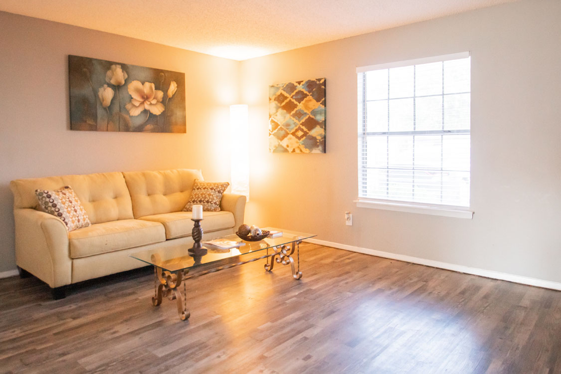 Spacious Living Rooms at Cedar Creek Apartments in Abilene, Texas