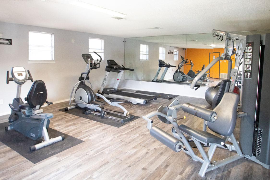 Fitness Center at Cedar Creek Apartments in Abilene, Texas