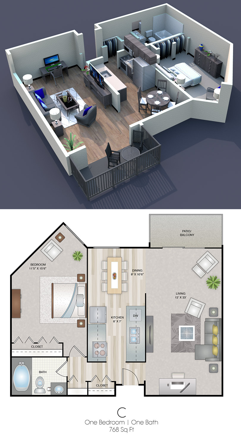 Cedars of Edina - Floorplan - C