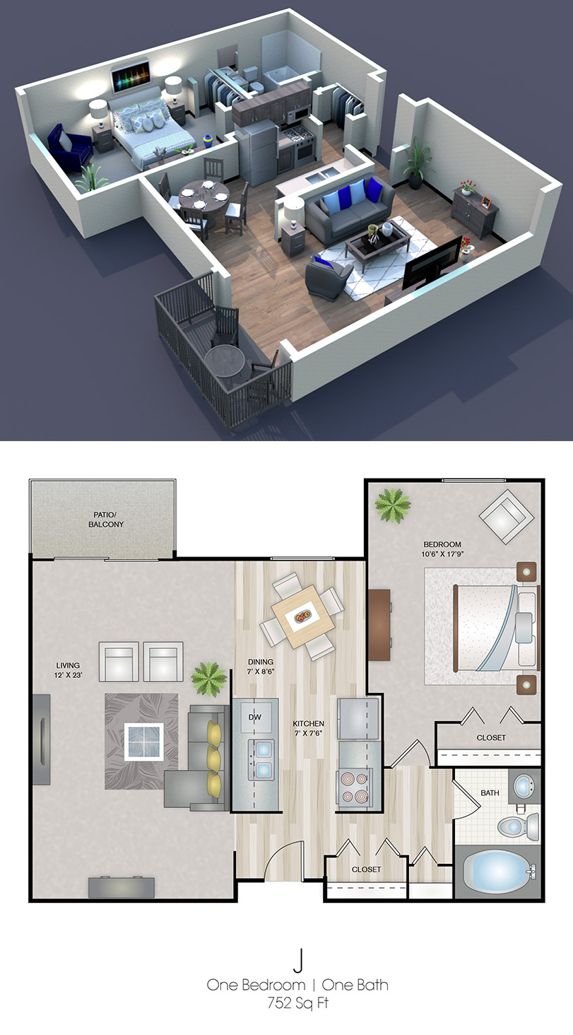 Cedars of Edina - Floorplan - J
