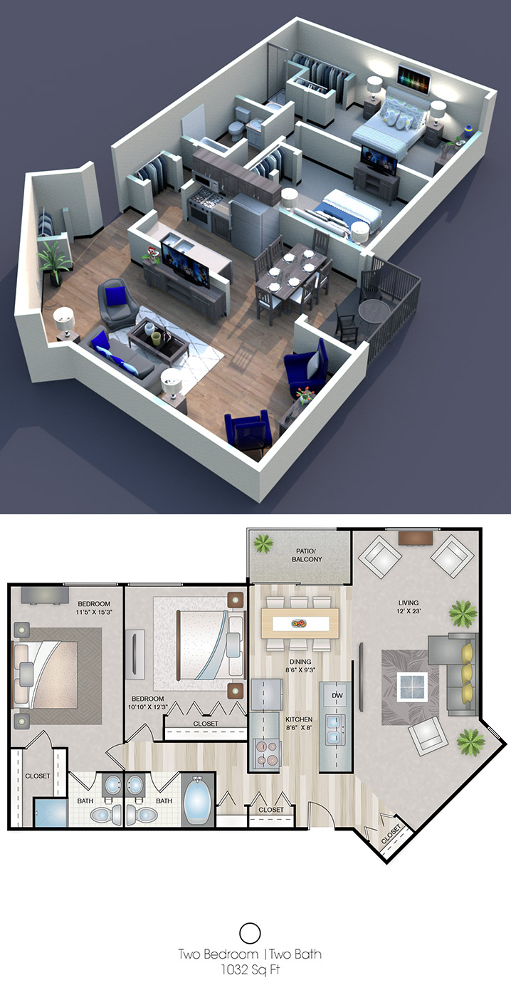 Cedars of Edina - Floorplan - O