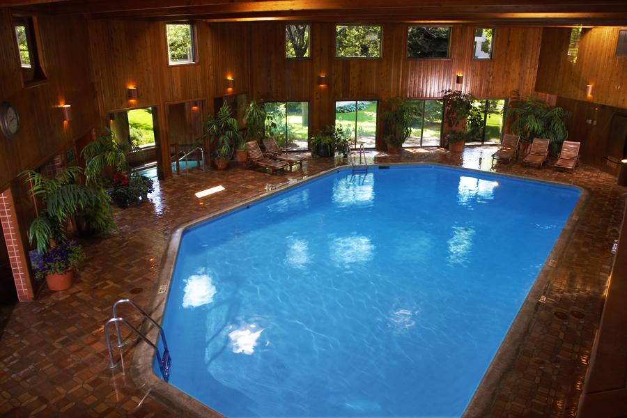 Heated Indoor Swimming Pool at Cedars of Edina Apartments in Edina, MN