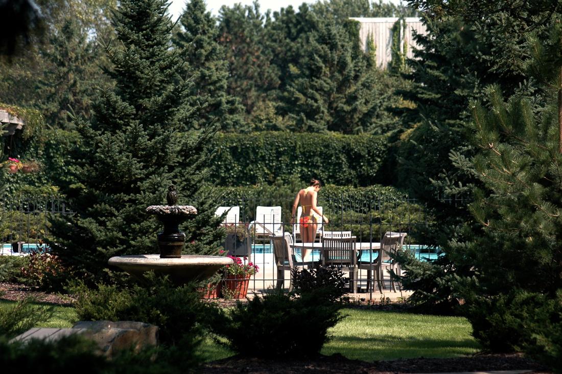 Heated Outdoor Swimming Pool at Cedars of Edina Apartments in Edina, MN