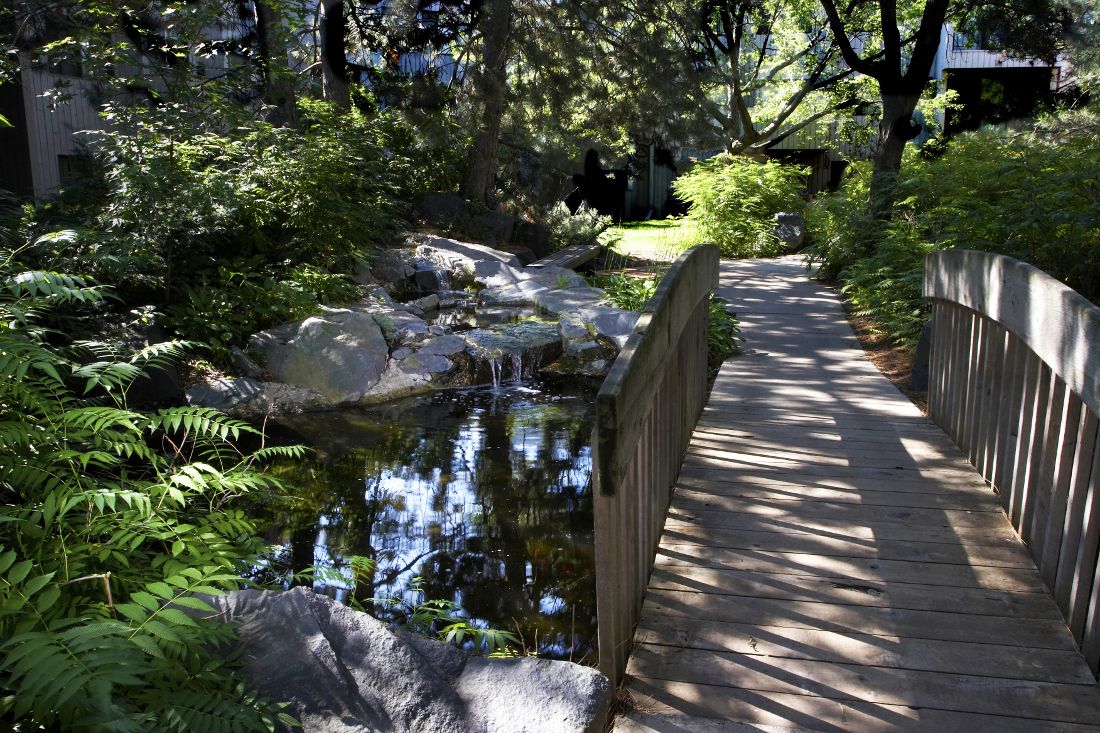 Community Walking Trails at Cedars of Edina Apartments in Edina, MN
