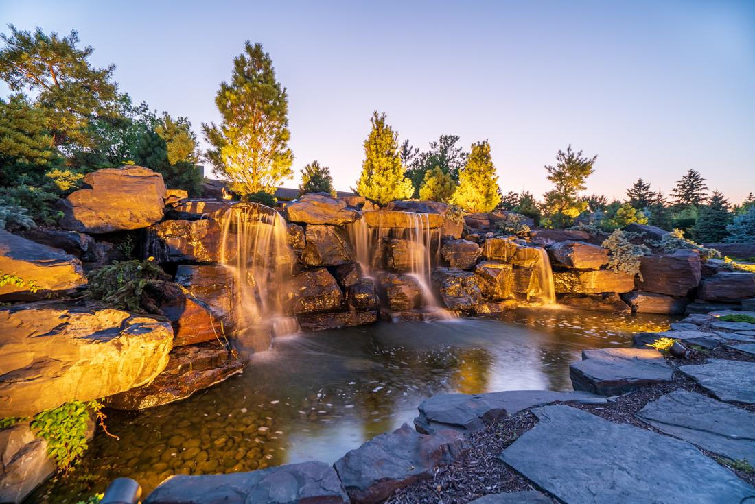 A refreshing view at Cedars of Edina Apartments in Edina, MN