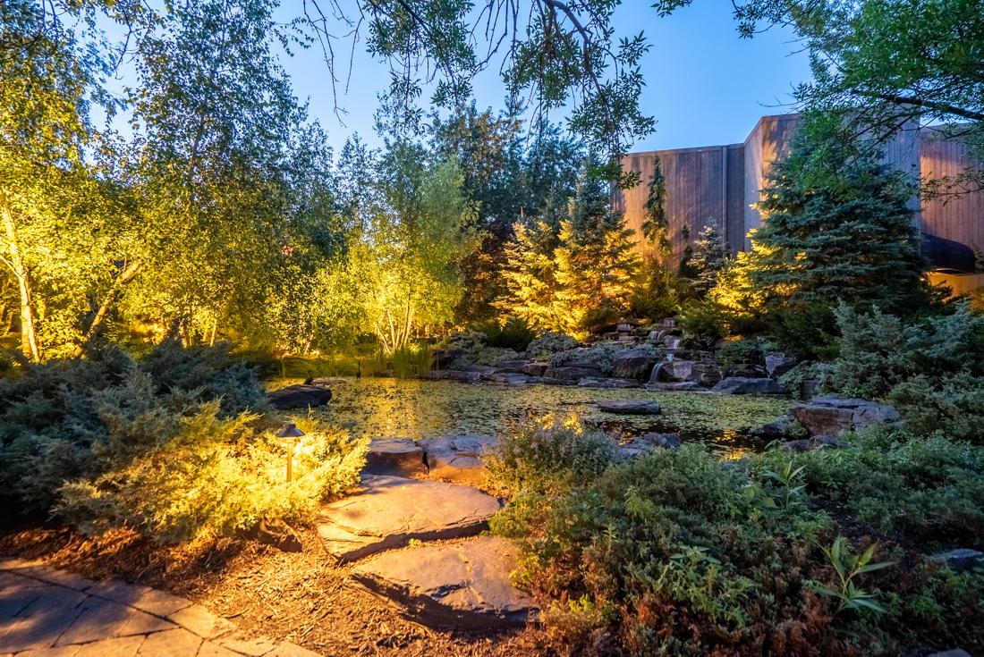 Mini garden at Cedars of Edina Apartments in Edina, MN
