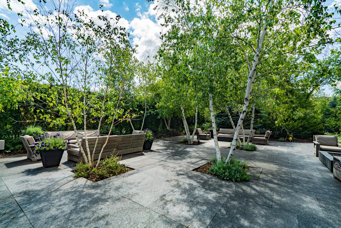 A very relaxing outdoor at Cedars of Edina Apartments in Edina, MN