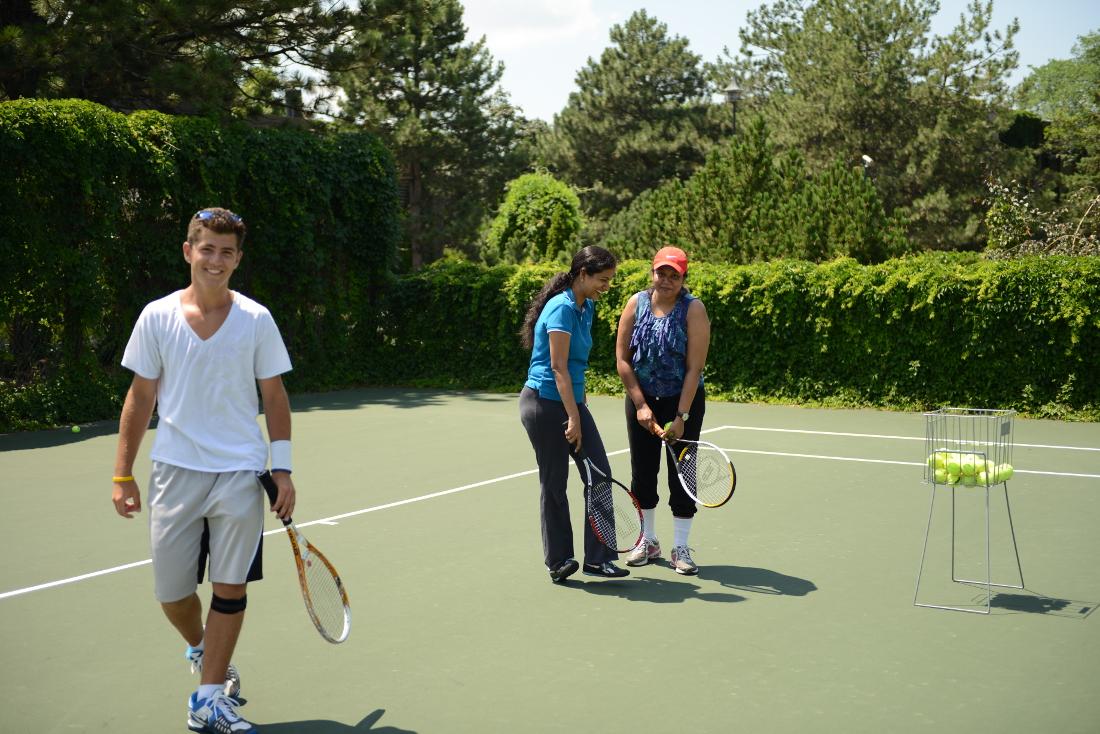 Tennis Court at Cedars of Edina Apartments in Edina, MN