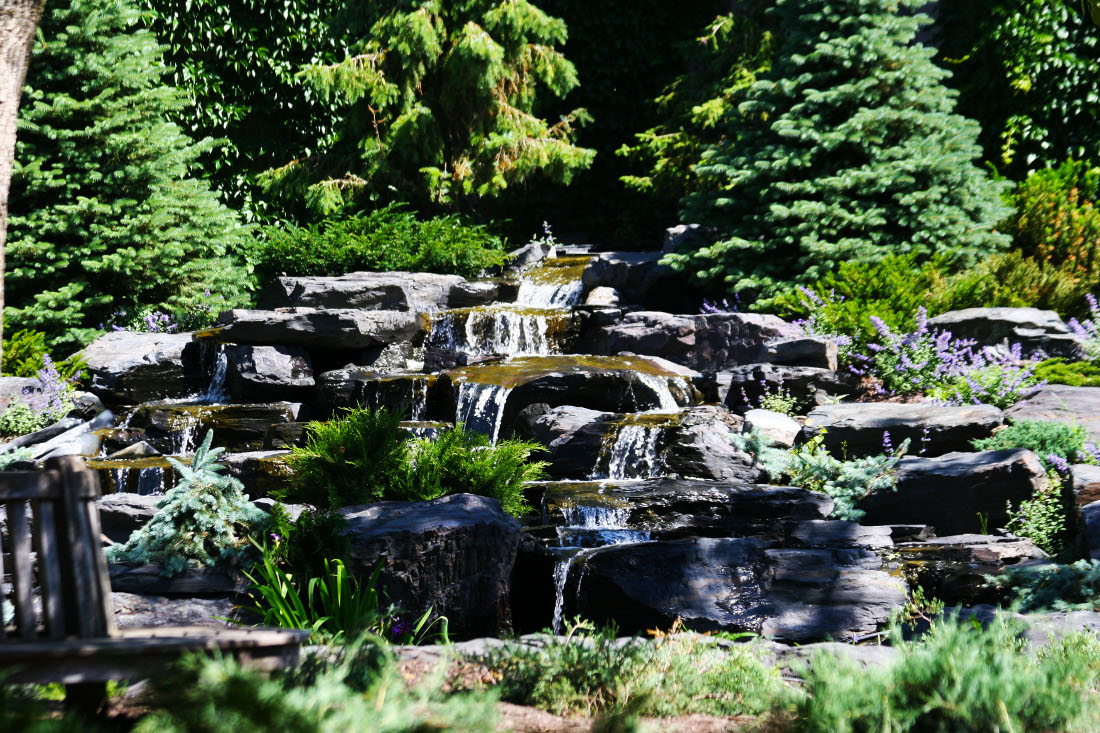 Natural Waterfalls Throughout at Cedars of Edina Apartments in Edina, MN