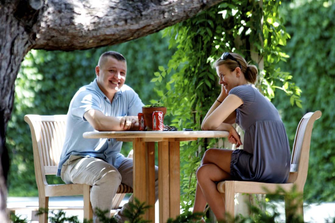Outdoor Lounges at Cedars of Edina Apartments in Edina, MN