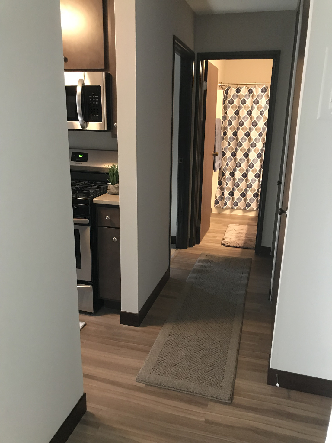 Stylish Wood Flooring at Cedars of Edina Apartments in Edina, MN