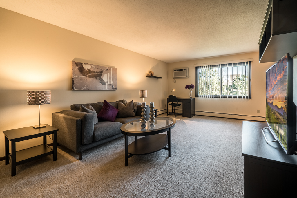 Large Living Areas at Cedars of Edina Apartments in Edina, MN