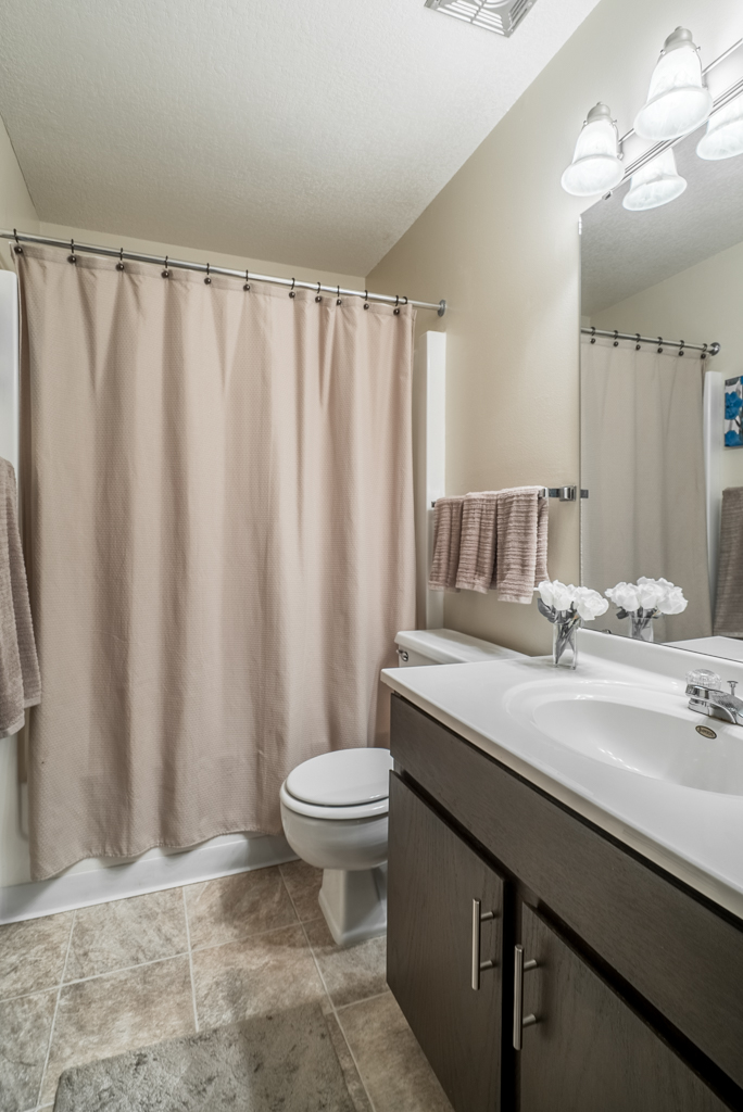 Luxurious Bathrooms at Cedars of Edina Apartments in Edina, MN