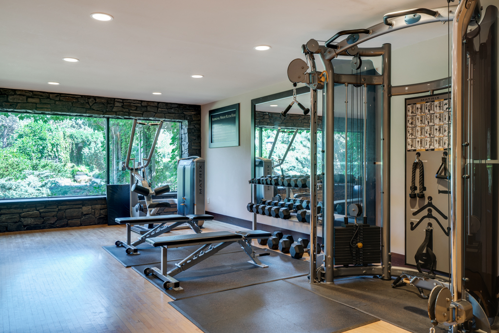 10 Station Weight Training Circuit at Cedars of Edina Apartments in Edina, MN