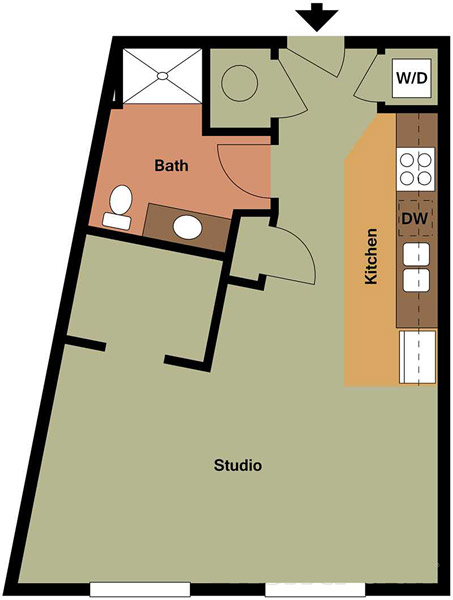 Centerline Apartments - Floorplan - SUSAN