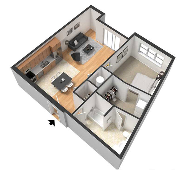 Floorplan - BILLIE image